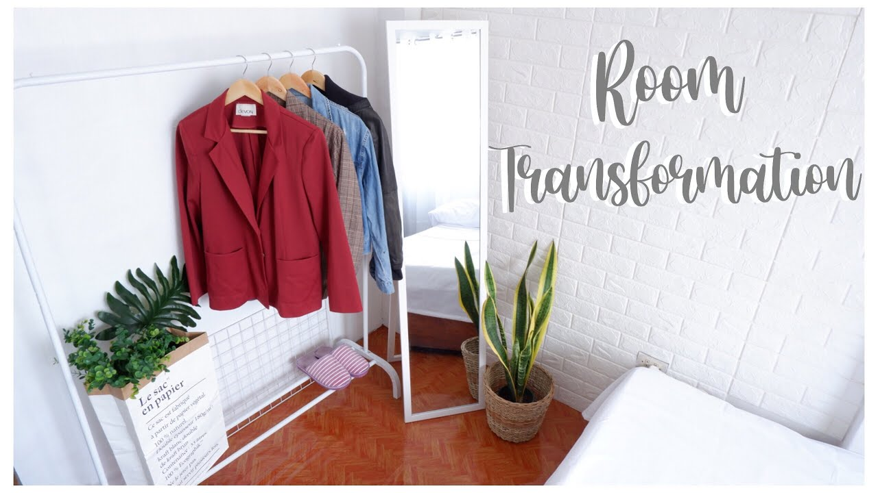 Room Makeover ☁️ (Minimalist, Aesthetic and Pinterest ...